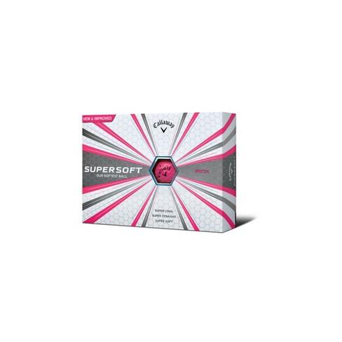 Callaway Supersoft Golf Balls 12pk - Pink - image 1 of 3
