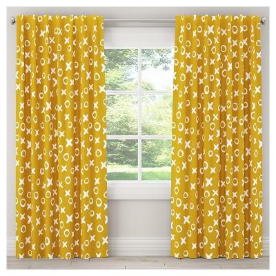 XO Painterly Blackout Curtain Panel   Skyline Furniture®