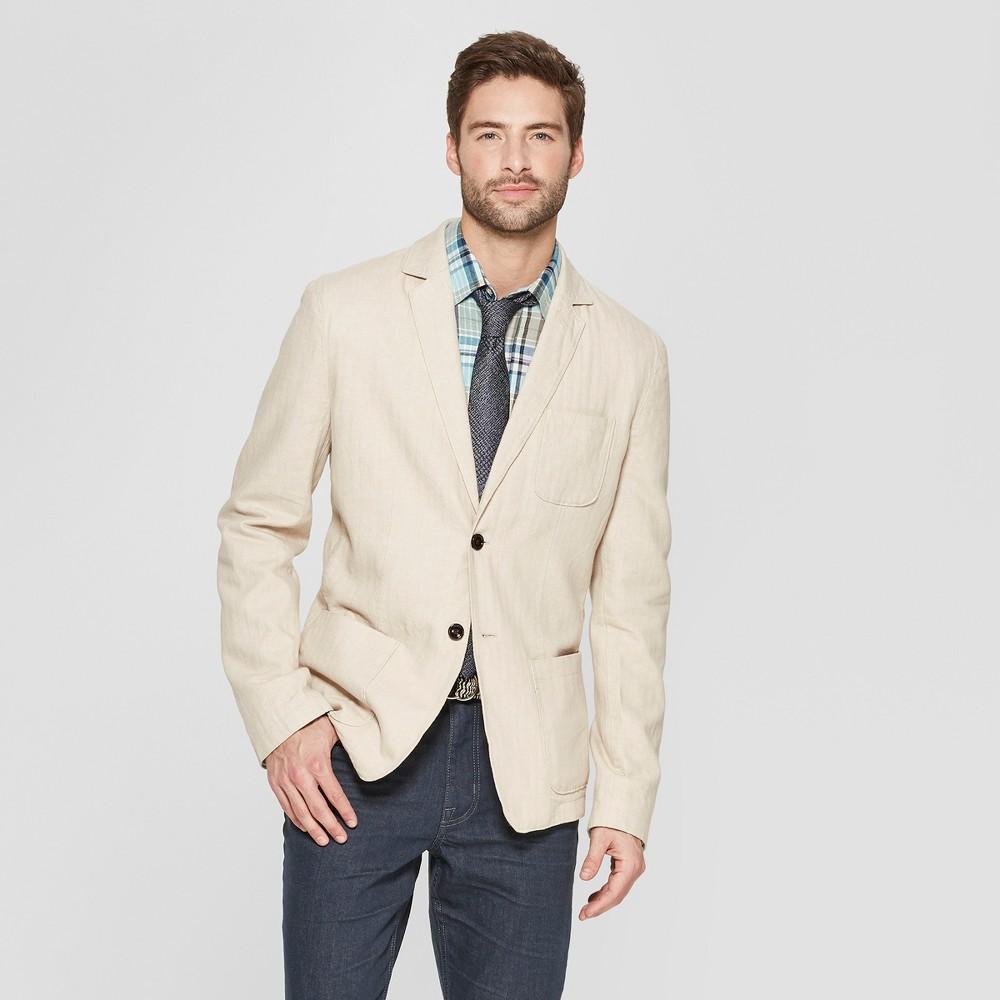 Men's Standard Fit Blazer - Goodfellow & Co Light Taupe M