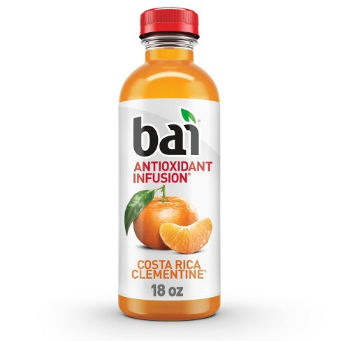 Bai Costa Rica Clementine Antioxidant Water - 18 fl oz Bottle - image 1 of 4