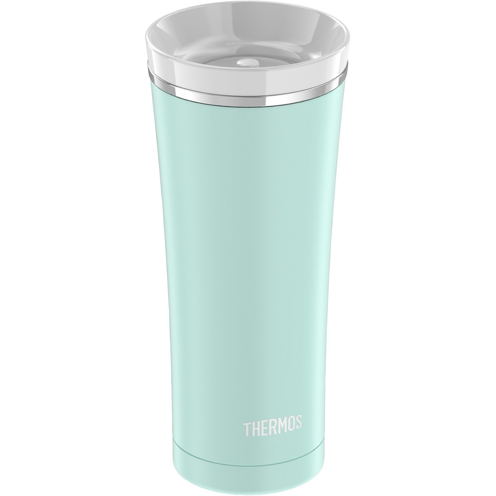 Thermos Stainless Steel Vacuum Insulated Lidded Tumbler 16ozr - Turquoise
