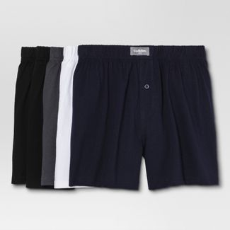 Men's Knit Boxer Shorts 5pk - Goodfellow & Co™ XL
