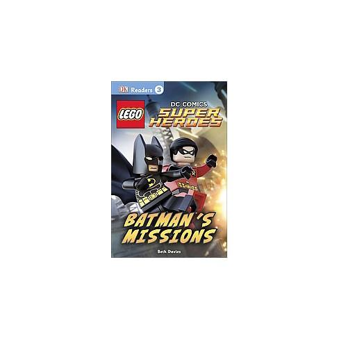 DK Readers L3: Lego(r) DC Comics Super Heroes: Batman's Missions - (DK Readers Level 3) (Paperback) - image 1 of 1