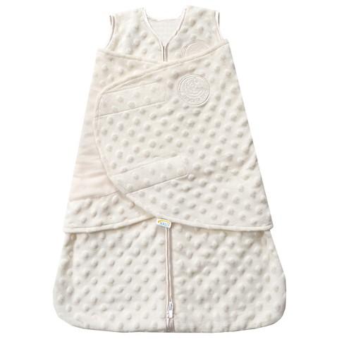 HALO® Sleepsack® Plushy Dot Velboa Swaddle - NB - image 1 of 3