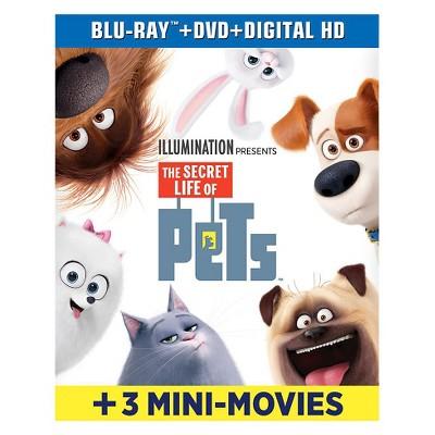The Secret Life of Pets (Blu-ray/DVD + Digital HD)