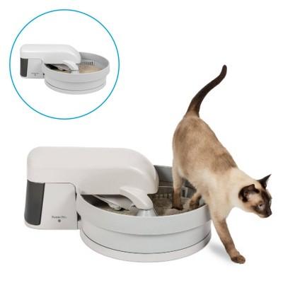 Premier Pet Auto-Clean Cat Litter Box System - Beige