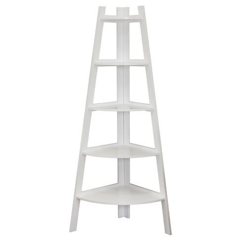 "63"" x 26.5"" Five Tier Corner Ladder Shelf - Danya B. - image 1 of 3"