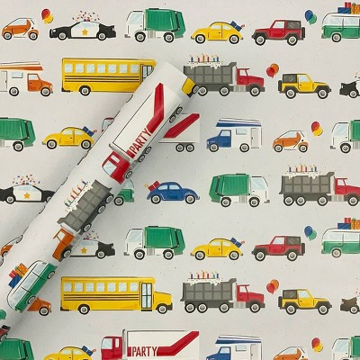 Vehicles Gift Wrapping Paper - Spritz™
