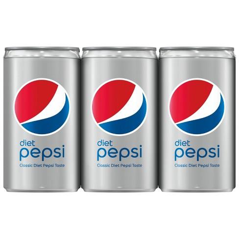 Diet Pepsi 6pk 75 Fl Oz Mini Cans Target