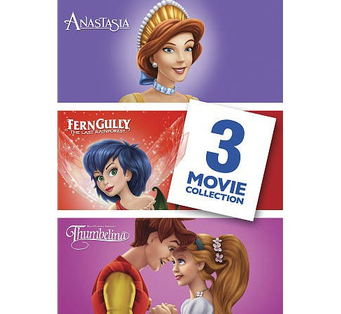 Anastasia/Ferngully The Last Rainfore (DVD) - image 1 of 1
