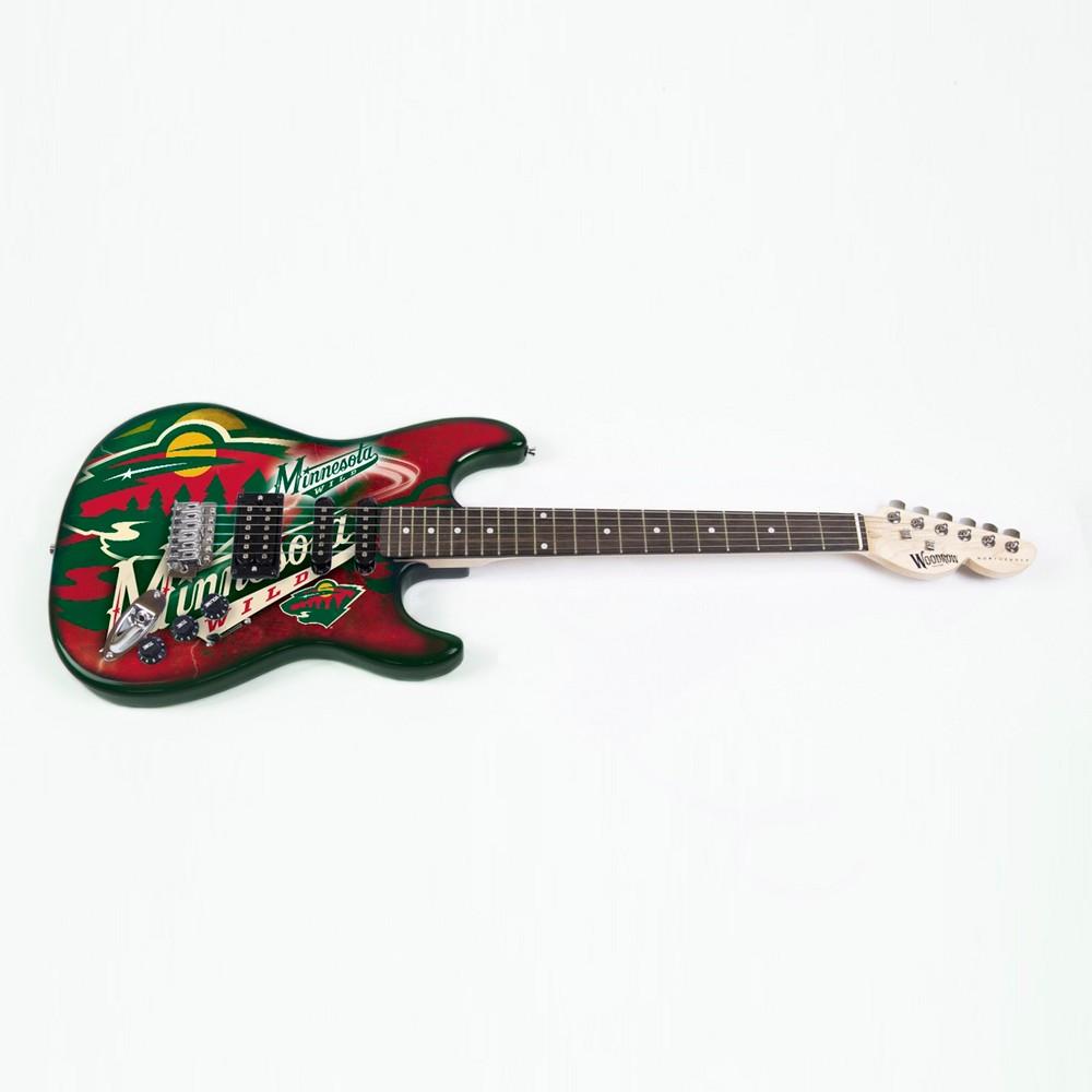 Minnesota Wild Northender Series II Electric Guitar