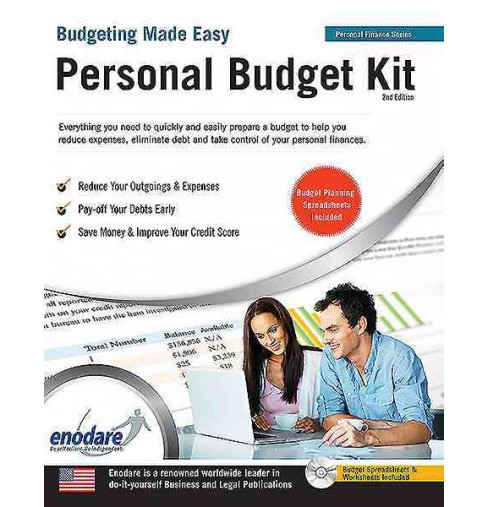 Personal Budget Kit : Including Financial Software (Paperback) - image 1 of 1