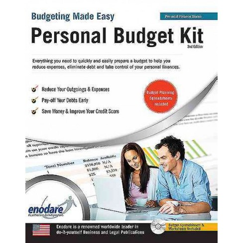 personal budget kit including financial software paperback target