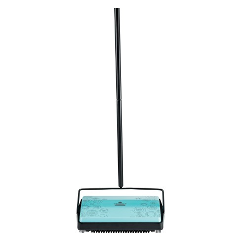 BISSELL Pirouette Refresh Carpet and Floor Manual Sweeper - Blue 2199 - image 1 of 7