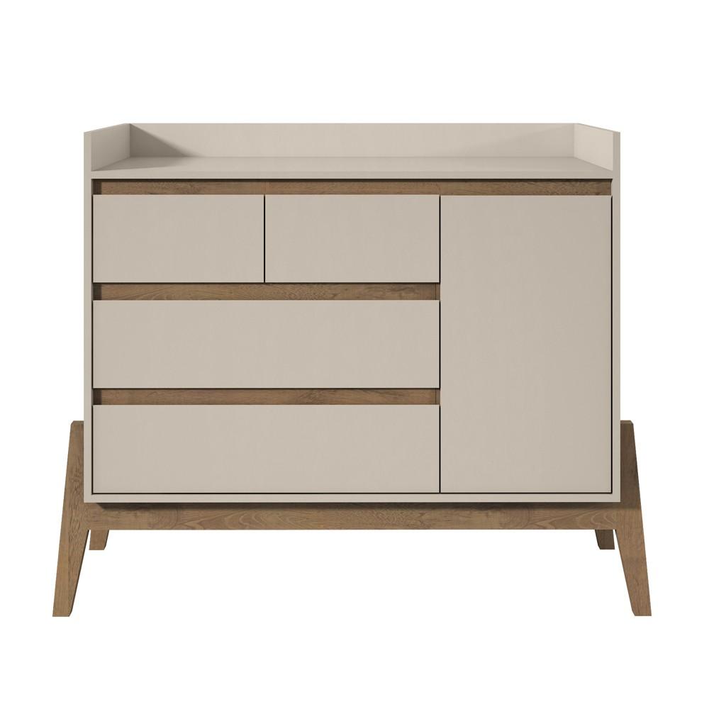 49 Essence Wide Dresser Off-White (Beige) - Manhattan Comfort