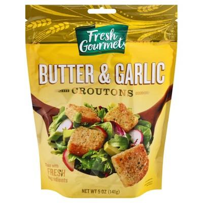 Fresh Gourmet Butter & Garlic Premium Croutons 5oz