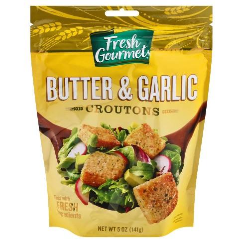 Fresh Gourmet Butter & Garlic Premium Croutons 5oz - image 1 of 3