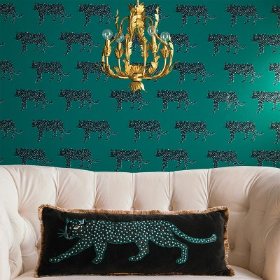 Panther Peel & Stick Removable Wallpaper Bluff Green ...