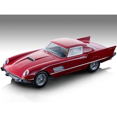 "1956 Ferrari 410 Super Fast (0483SA) Gloss Ferrari Red ""Mythos Series"" Limited Edition to 170 pcs 1/18 Model Car by Tecnomodel"