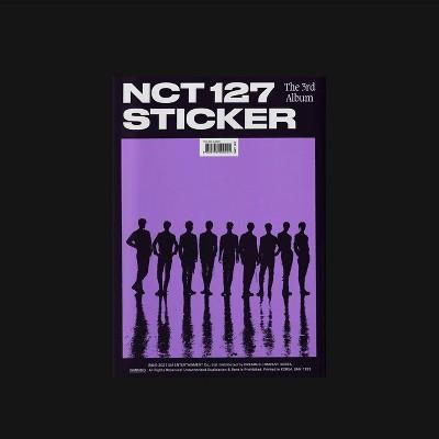 NCT 127 - The 3rd Album 'Sticker' (Sticker Ver.) (CD)