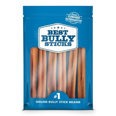 Best Bully Sticks Odor Free Standard Beef Dog Treats - 6ct