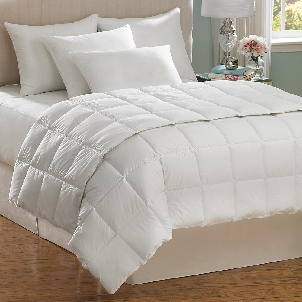 Image of AllerEase Allergen Barrier Down Alternative Comforter - White (King)