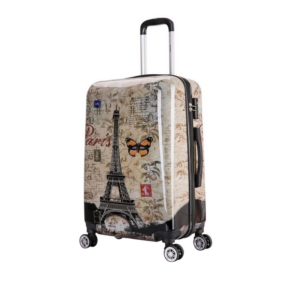 "Image of ""InUSA 24"""" Lightweight Hardside Spinner Suitcase - Paris"""