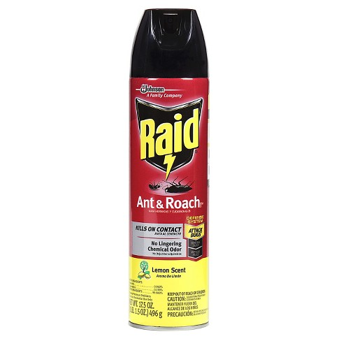 Raid Ant & Roach Aerosol Lemon - 17.5oz - image 1 of 3