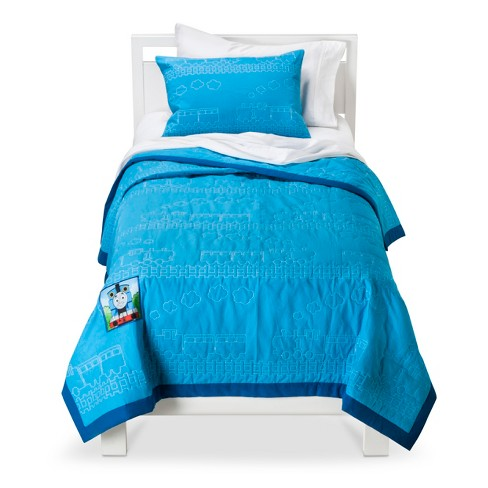 Thomas the Tank Engine Quilt Set - Blue (Twin) - image 1 of 1