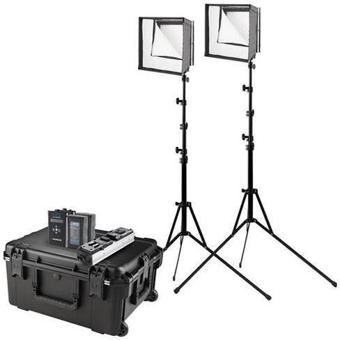 Westcott Flex Cine Bi-Color LED 2-Light Travel Kit, 1'x1' - image 1 of 4