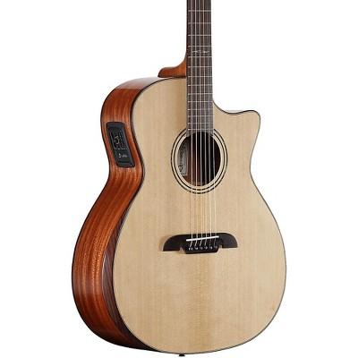 Alvarez AG60CEAR Grand Auditorium Acoustic-Electric Guitar Natural