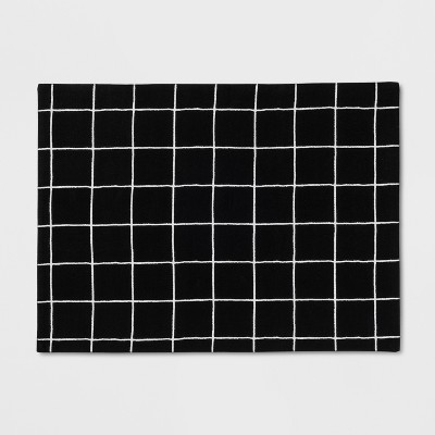 Black Windowpane Placemat - Project 62™