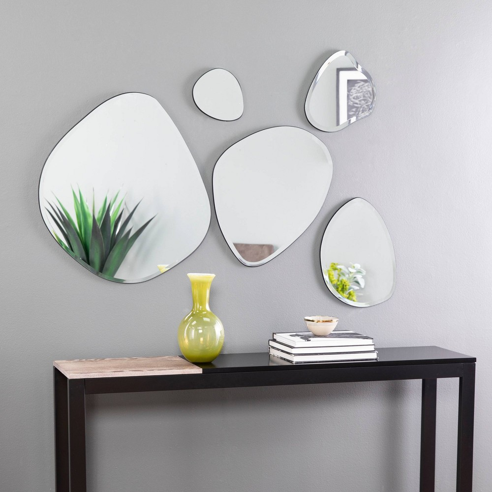 Image of 5pc Woxsley Decorative Mirror Set - Holly & Martin