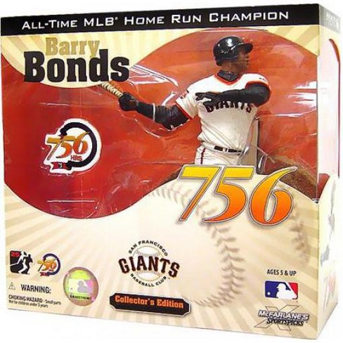 McFarlane Toys MLB San Francisco Giants Sports Picks Collector's Edition Barry Bonds Action Figure [756th Home Run] - image 1 of 1