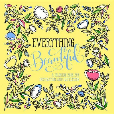 Everything Beautiful: An Adult Coloring Book for Reflection OCT16NRBS 10/04/2016 - by Waterbrook (Paperback)