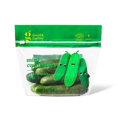 Mini Cucumbers - 16oz Bag - Good & Gather™