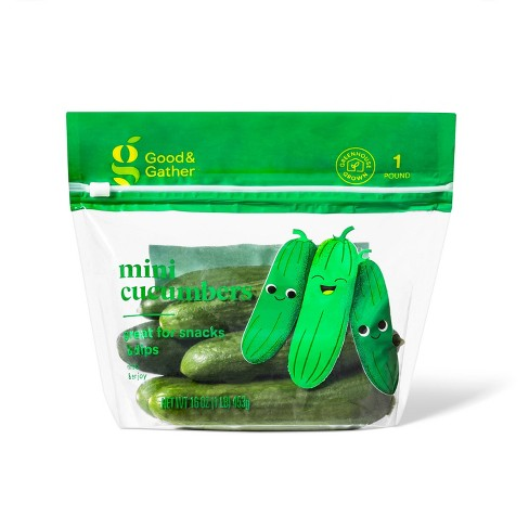 Mini Cucumbers - 16oz Bag - Good & Gather™ - image 1 of 3