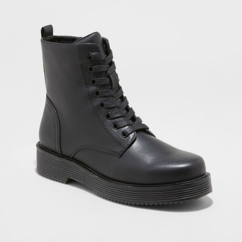 Women's Dayton Combat Boots - Wild Fable™ Black - image 1 of 3