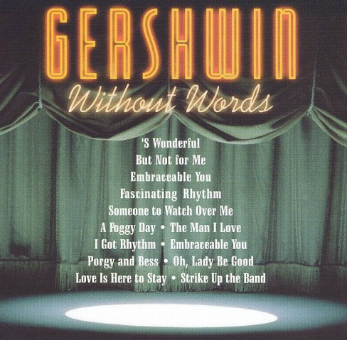 Various - Gershwin:Gershwin without words (CD) - image 1 of 1