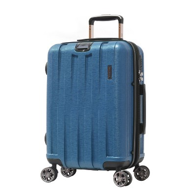 """Olympia USA Sidewinder 25"""" Mid Size Spinner Suitcase - Navy"""
