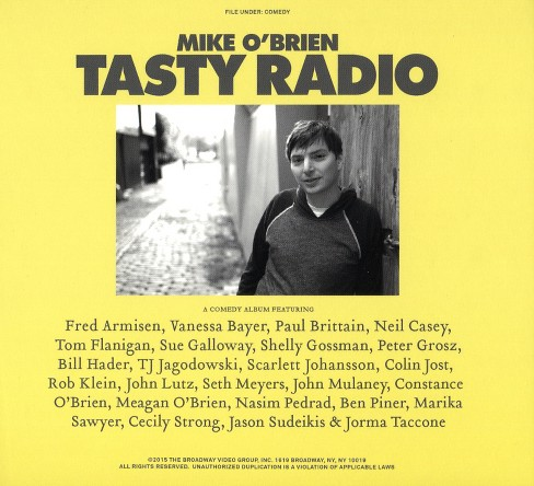 Mike o'brien - Tasty radio (CD) - image 1 of 1