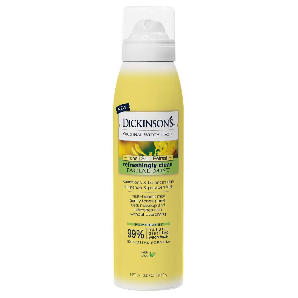 Image of Dickinson's Refreshingly Clean Facial Mist - 3.5oz