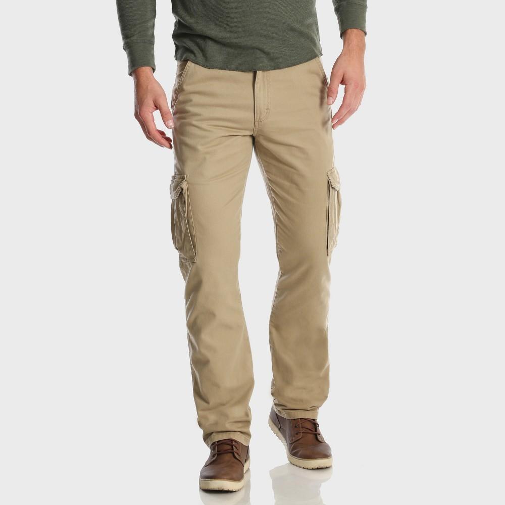 Wrangler Mens Cargo Pants Camel 34x30