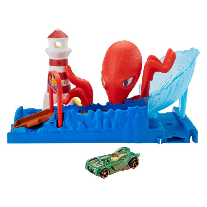 How Wheels City Octopus Playset - image 1 of 10
