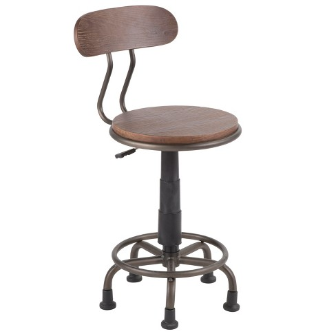 Dakota Industrial Task Chair - LumiSource - image 1 of 8