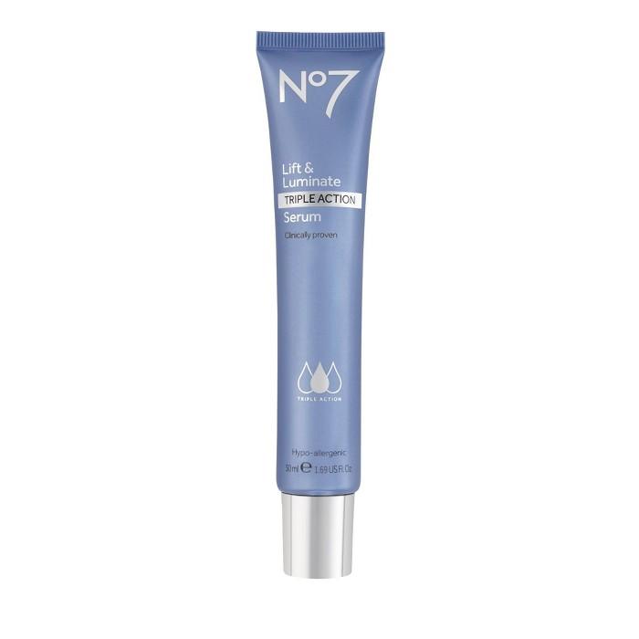 No7 Lift & Luminate Triple Action Serum - 1.69oz : Target