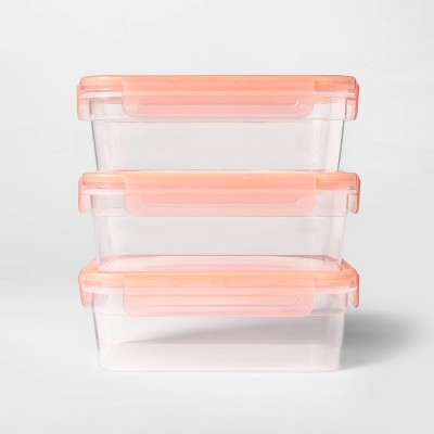 Food Storage Container Sets Pink - Room Essentials™