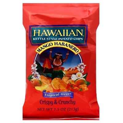 Hawaiian Mango Habanero Kettle Style Potato Chips - 7.5oz