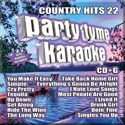 Party Tyme Karaoke Country Hits 22 [16-song CD+G]