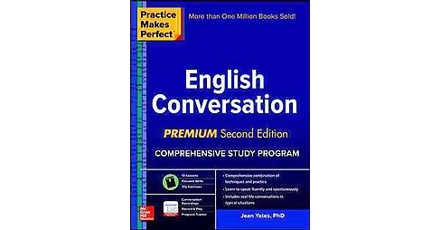 Practice Makes Perfect English Conversation (Paperback) (Jean Yates) - image 1 of 1